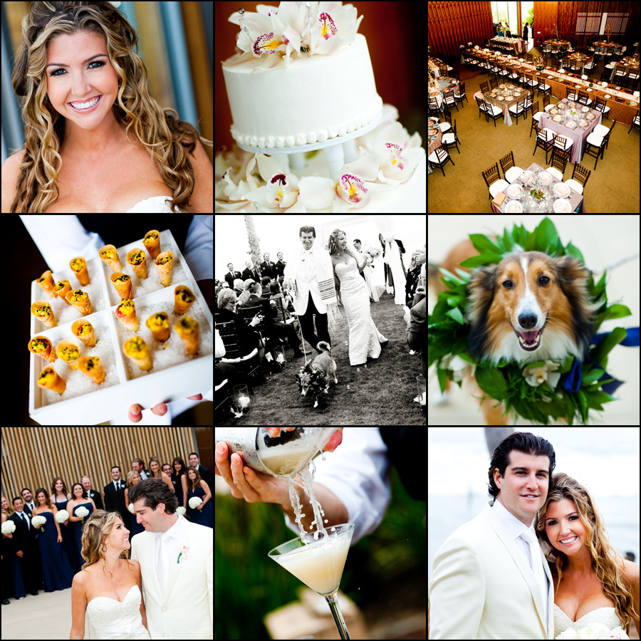 real weddings :: jenny and andrew