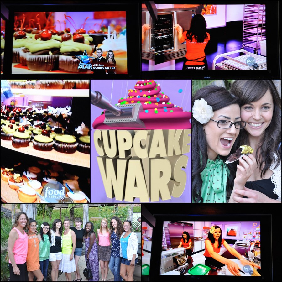 news + press :: sweet cheeks dominates cupcake wars!!