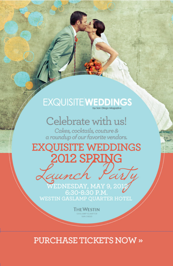 news + press :: exquisite weddings magazine launch party :: spring 2012