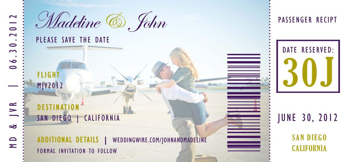 real weddings :: madeline + john