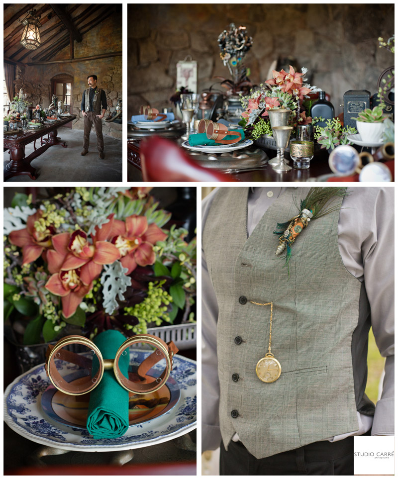 Studio Carre, Weddings of Distinction, Steampunk