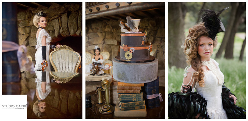 steampunk wedding :: a WOD collaboration
