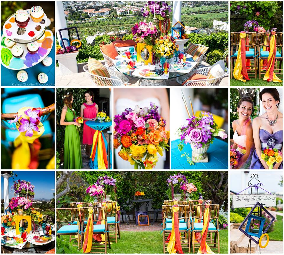 artist love :: color + vibrancy for your wedding