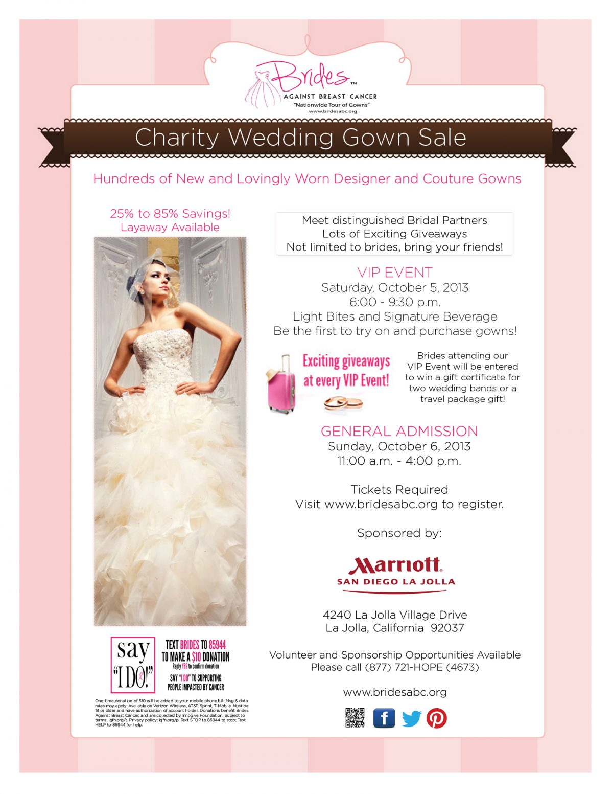 special event :: Brides Against Breast Cancer