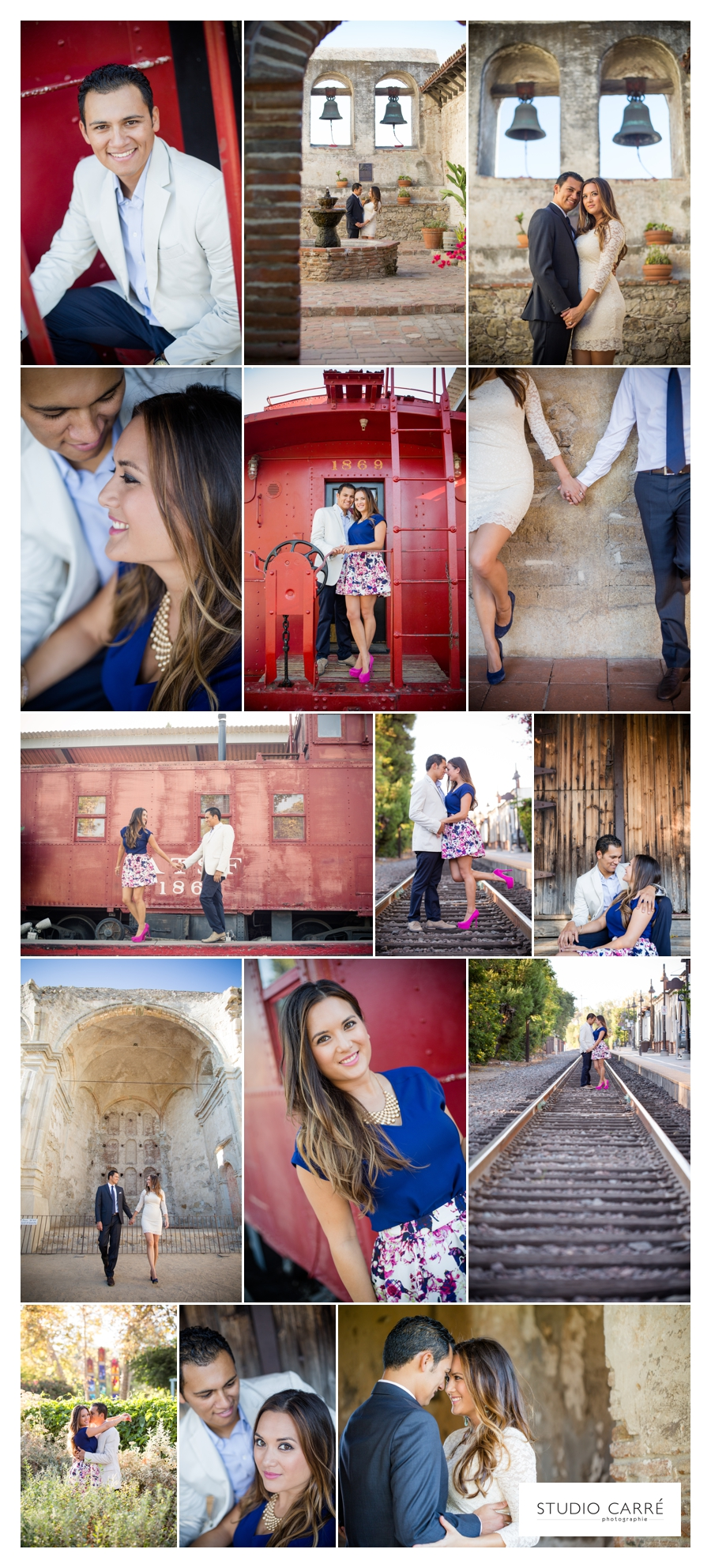 real weddings :: mylene + ryan engagement session
