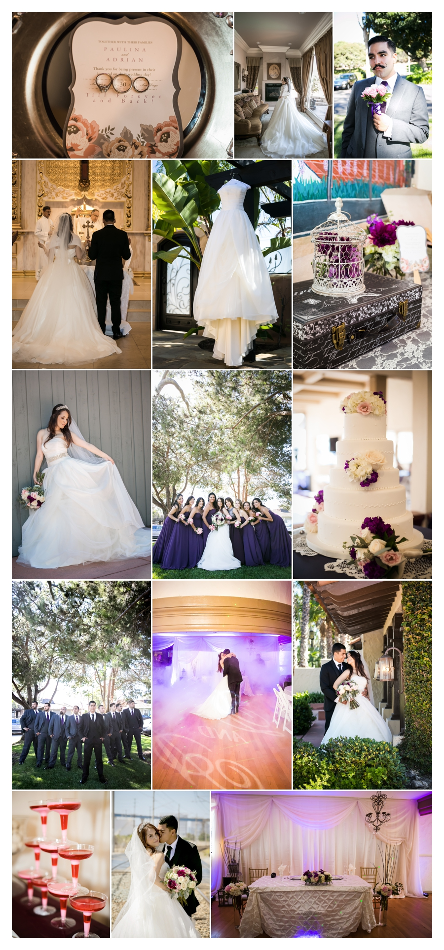 real wedding :: paulina & adrian