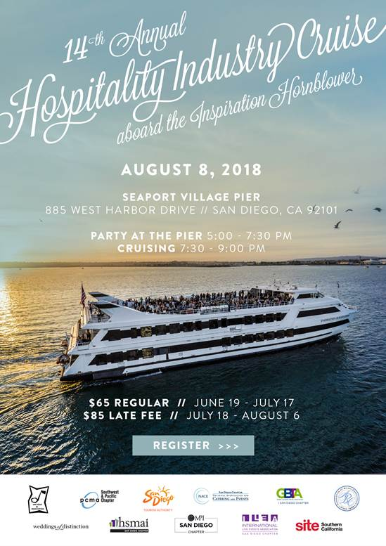 Get tickets today for the 14th Annual Hospitality Industry Cruise
